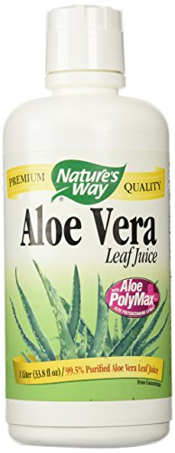 Nature's Way Aloe Vera Whole Leaf Juice, 34 oz