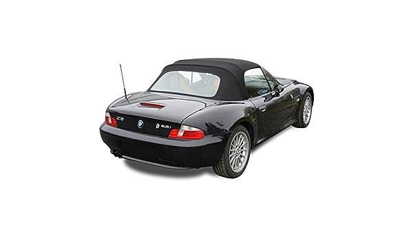 BMW Z3 Convertible Top - twillfast LL Orignal Gamuza con ventana de plástico: Amazon.es: Coche y moto