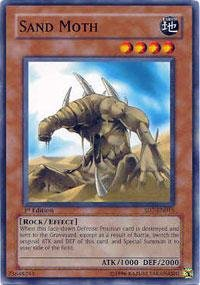 (Yu-Gi-Oh! - Sand Moth (SD7-EN015) - Structure Deck 7: Invincible Fortress - 1st Edition - Common)
