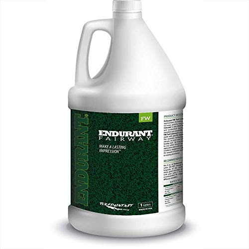 Concentrated Turf and Grass Colorant - 1 Gallon Jug Revitalizes Approximately 10,000 Sq. Ft of Dormant, Drought-Stricken or Patchy Lawn (Fairway)