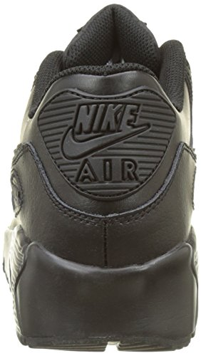 Nike Air Max 90 Jonge Ltr (gs) Trail Running Shoes Black (zwart / Zwart 001)