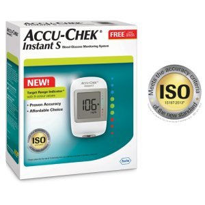 amazon com accu chek instant s meter with 10 50 60 test strips