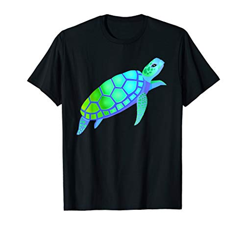 Yertle The Turtle Costumes Ideas - Colorful Sea Turtle In Deep Sea