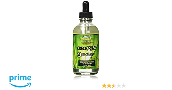 Crece Pelo Capillary Hair Growth Natural Dropper 4.25oz by Crece ...
