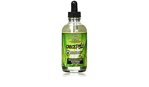Crece Pelo Capillary Hair Growth Natural Dropper 4.25oz by Crece Pelo: Amazon.es: Belleza