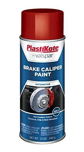 PlastiKote CP-251 Bright Red Brake Caliper Paint - 12 Oz.