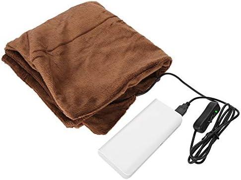 Amazon.com: Manta eléctrica calefactable, USB de franela ...
