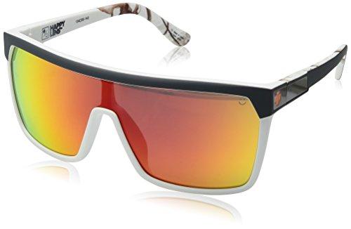 Spy Optic Unisex Flynn Soft Matte Decoy Realtree/Happy Gray Green W/ Red Spectra - Flynn Spy Sunglasses