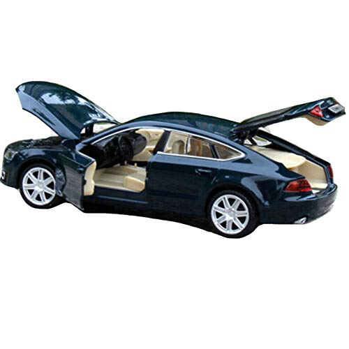 [해외]Model Cars 1:32 Scale Toy Car Audi A7 Sound & Light Alloy Diecast Kids Gift Blue Color / Model Cars 1:32 Scale Toy Car Audi A7 Sound & Light Alloy Diecast Kids Gift Blue Color