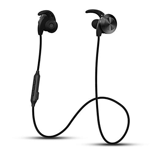 Bluetooth Kopfhörer, Riversong In-Ohr Sport Ohrhörer Wireless Headset mit Mikrofon, Noise Cancelling, Schweissfest für Joggen, Fitness, Magnetische Headset für iPhone 7 7 Plus 6 6S 6 Plus 6S Plus 5S 5 5C 4S 4, Samsung Galaxy S6 S6 Edge S5 S4 Mini usw.