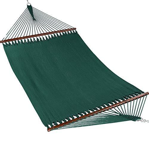 Caribbean Hammocks Jumbo 55 INCH - Soft-Spun Polyester (Green)