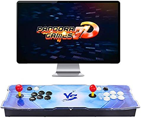 Amazon Com 3d Pandora Games Arcade Game Console 4018 Games Installed Wifi Function To Add More Games Support 3d Games Search Save Hide Pause Games 1280x720 Full Hd Favorite List 4 Players Online Game Toys