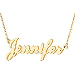 Custom Letter NameOnNecklaceWhichIsThinkingOfAPerfectWayToExpressYourLove,LettingYouKeepYourLovedOneCloseToYourHeart.                       Gives you a meaningful customized name necklace with perfect d...