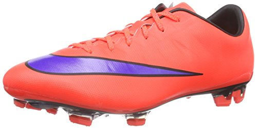 NIKE New Men's Mercurial Veloce II FG Soccer Cleat Crimson/Persian Violet 11.5
