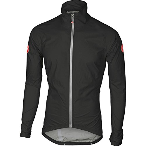 Castelli Emergency Rain Jacket - Men's Black, L