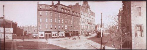 c1903 Panoramic photo of Hotel Clarendon, Tremont St., Boston, Mass. 24