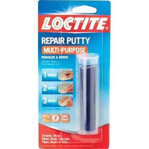 Henkel-Loctite 431348 2 Pack 2 ounce. All-Purpose Epoxy Repair Putty Stick