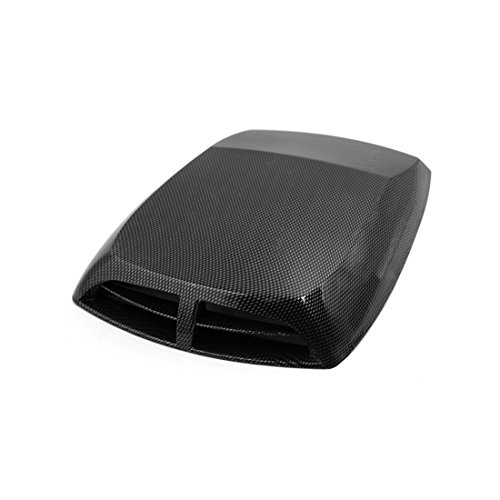 - uxcell Car Carbon Fiber Pattern Decorative Air Flow Intake Hood Scoop Cover