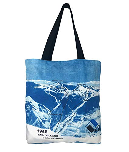 (Vail Tote Bag With Original 1962 Trail Map)