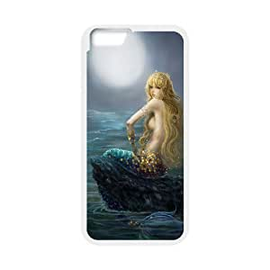 "C-Y-F-CASE DIY The Little Mermaid Pattern Phone Case For iPhone 6 (4.7"") hjbrhga1544"