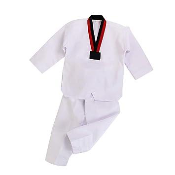 Yiliankeji Dobok Taekwondo Kimono Uniforme Traje - Unisex Adulto ...