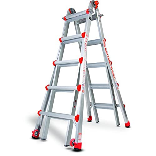 Little Giant Ladder Systems 10103LG 300 Pound Duty Rating Multi Use Ladder