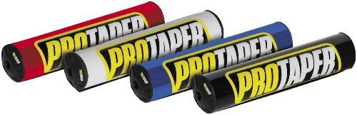ProTaper Round Bar Pads 10.3'' Handlebar Accessories - Red by Pro Taper