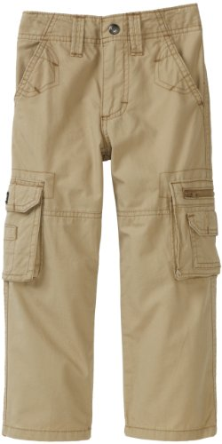 Lee Little Boys' Dungarees Explorer Cargo Pant, Camel, 6 Slim - Kids Cargo Pants