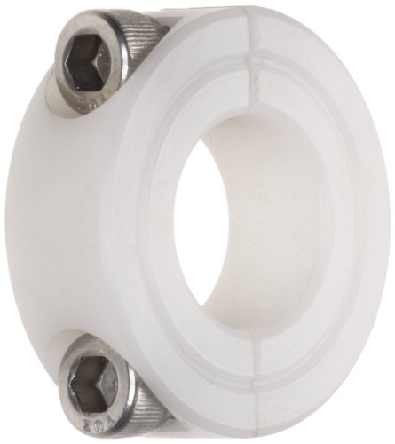 Climax Metal N2C-100 Two Piece Clamping Collar, Nylon, 1