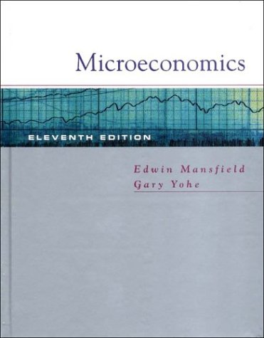 Microeconomics: Theory and Applications (Eleventh Edition)