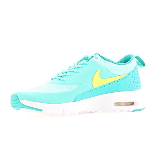 Nike Air Max Thea (GS) Running Trainers 814444 Sneakers Shoes (5 M US Big Kid, Hyper Turquoise Volt Clear Jade White 300)