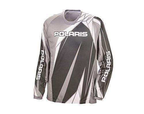 Gray Medium Polaris Off-Road Riding Jersey