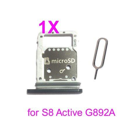 Welche Sd Karte Für S8.Phonsun Sim Card Tray Holder For Samsung Galaxy S8 Active G892a Black