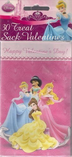(Disney Valentines Treat Sacks (30 count) by Paper Magic Group,)