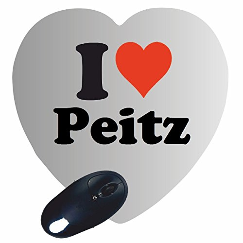 Peitz the best amazon price in savemoney exclusive gift idea heart mouse pad i love peitz a great gift that comes from fandeluxe Choice Image