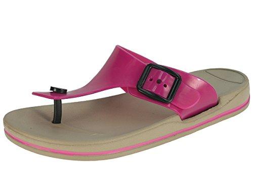 Beppi Zapatillas de zapatillas señoras Tythes Renner verano zapatillas Fucsia