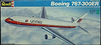 Revell 1:144 United Airline Boeing 767-300ER - Plastic Aircraft Model Kit #4471