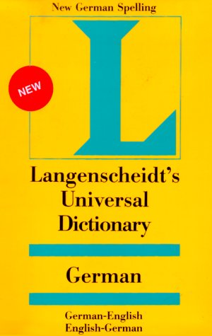 Langenscheidt's Universal German Dictionary: German-English English-German (English and German Edition)