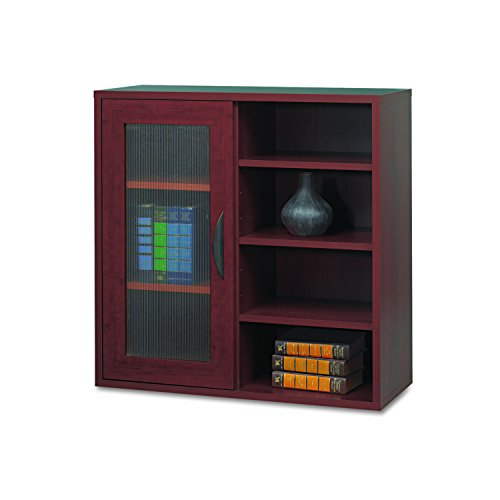 Safco Products 9444MH Apres Modular Storage Single Door/Open Shelves, (Open Single Bookcase)