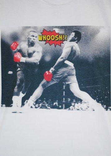 Col Ali Fact Ras Tyson Mike Shirt De Blanc Muhammed Actual Whoosh Cou HBC0q664