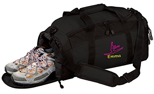 Personalized Dance Gym Sports Duffel Bag (Black) Review