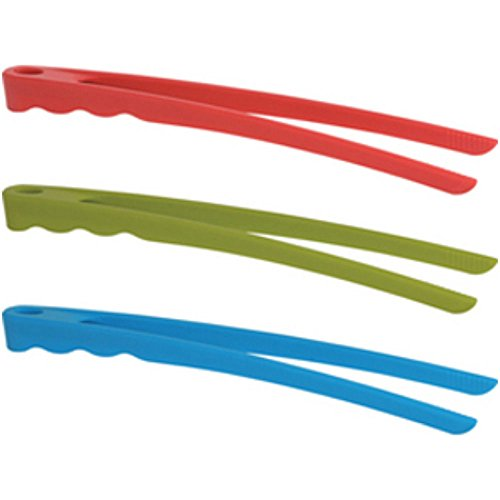 Trudeau Silicone Cooking Tongs - Random Colors