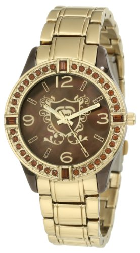 Rhino by Marc Ecko Women's E8M105MV On The Rocks Baguette And Stone Ring Bracelet Watch