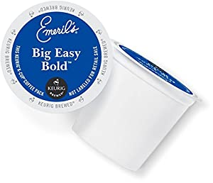 Emeril's Big Easy Bold K-Cup Packs for Keurig K-Cup Brewers