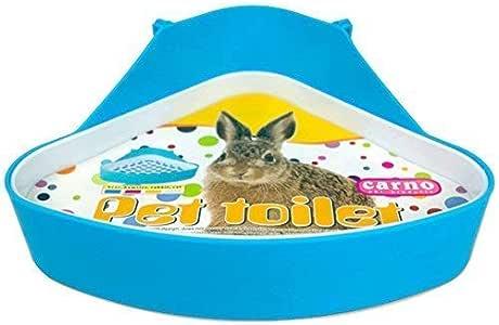 WYOK Plastic Pet Toilet, Small Animal Litter Tray Corner for Hamster Pig Rabbit Pee