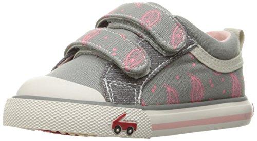 See Kai Run Girls' Robyne Gray Sneaker, 10 M US Toddler