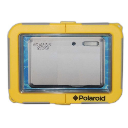 (Polaroid Dive-Rated Waterproof Camera Housing for The Sony Cybershot DSC-TX66, TX55, TX200V, TX20, TX100V, TX10, T110, TX9, T99, TX5, TX7, TX1, T90, T900 Digital Cameras)
