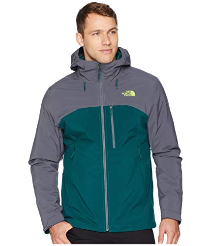 Mens Down Triclimate Jacket - The North Face Men's Thermoball¿ Triclimate¿ Jacket Botanical Garden Green/Vanadis Grey Large
