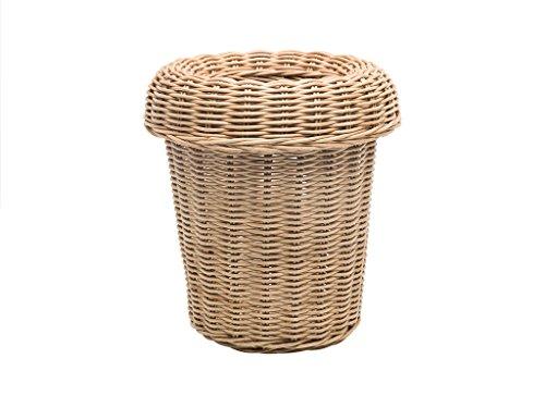 KOUBOO 1030086 Rattan Round Waste Basket -