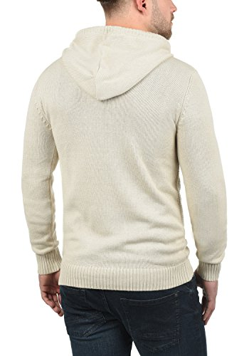 Oyster Trace À Capuche En Tricot Grey Pull over solid Homme Maille Pull 8215 Pour P6xqddw